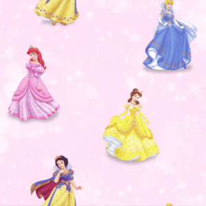 Giấy dán tường Fairytale 35001-1, Mẫu giấy dán tường elsa, giấy dán tường công chúa cho bé gái