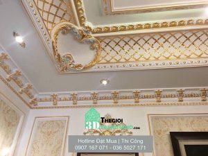 Phào Chỉ Trang Trí, Phào chỉ nhựa Hàn Quốc, Châu Âu cho tường trần, công trình phào chỉ trang trí nội thất sang trọng