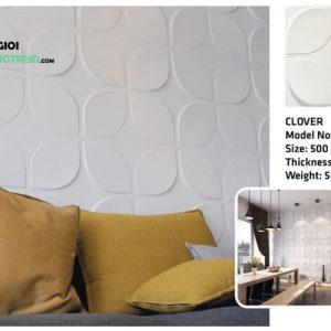 Ốp tường nhựa 3D PVC – CLOVER WK51002