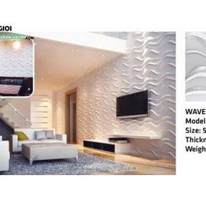 Ốp tường nhựa 3D PVC – WAVE WK51031