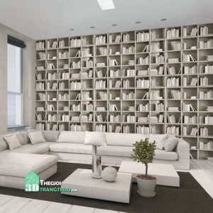 Cửa hàng Vật liệu trang trí nội thất giá sỉ, Giấy dán tường Library 2660-1