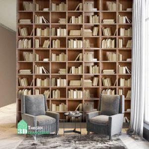 Giấy dán tường LIBRARY