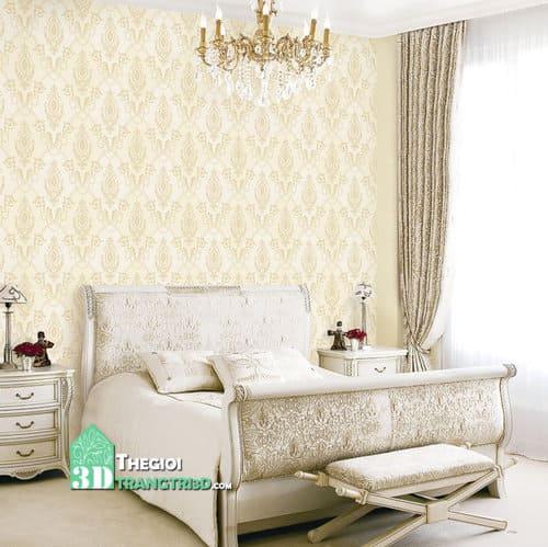 Đa dạng mẫu giấy dán tường phòng ngủ đẹp từ Hàn Quốc