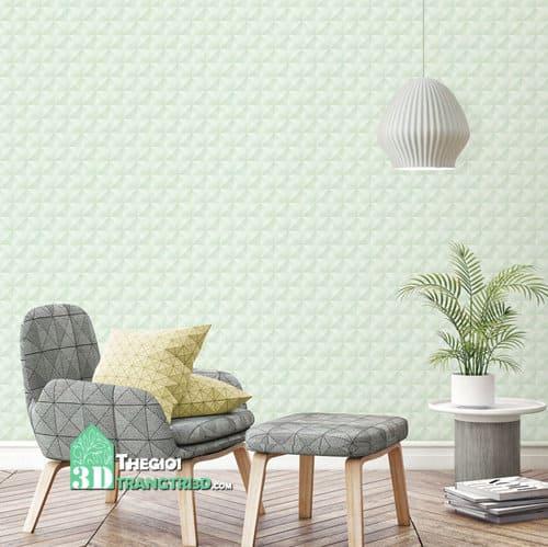 giấy dán tường màu pastel ứng dụng trang trí nội thất kiểu mới