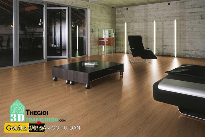 Sàn gỗ nhựa được ứng dụng trong nhiều công trình, nhà ở hiện đại