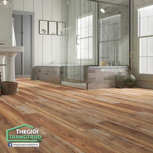 Kho sàn gỗ hèm khóa, sàn gỗ châu âu chống nước hiệu quả