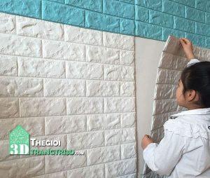 Bán xốp dán tường chống thấm nước, dán tường ẩm mốc