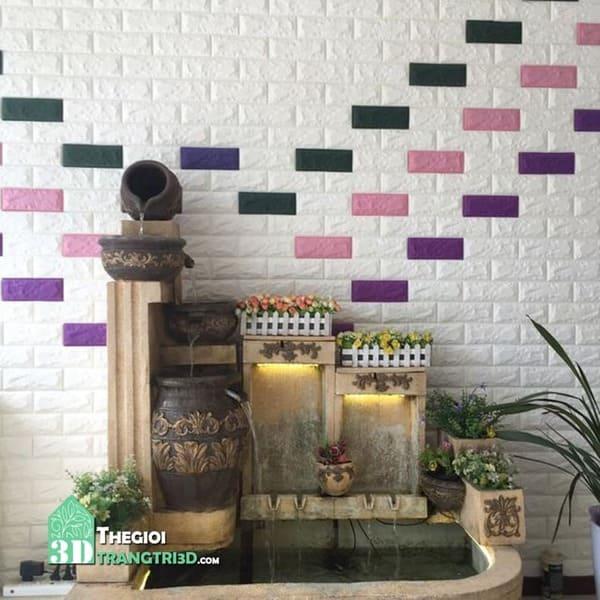 Xốp dán tường tphcm, các mẫu tấm xốp ốp dán tường 3d đẹp nhất