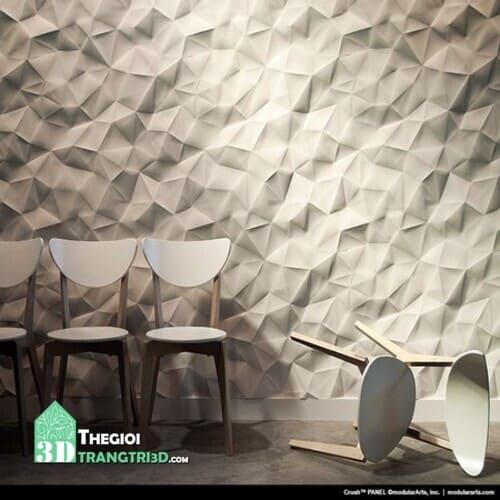 Thi công tấm ốp tường 3d nhựa cho showroom, cửa hàng