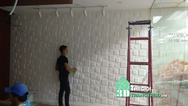 Tấm ốp tường 3d nhựa pvc - Vật liệu trang trí nội thất đa ưu điểm