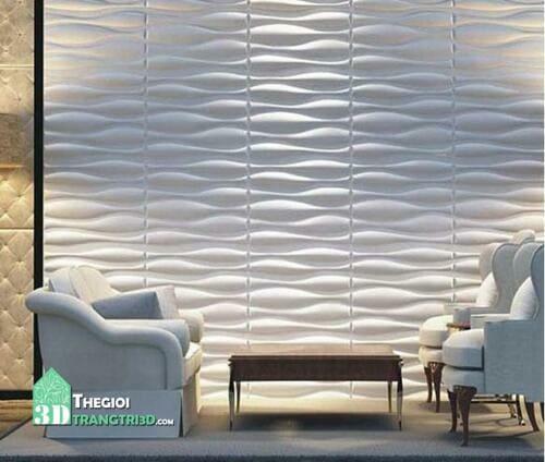 Các vật liệu ốp tường 3d, tấm ốp tường nhựa cao cấp. Tấm ốp tường 3d nhựa pvc - Vật liệu trang trí nội thất đa ưu điểm