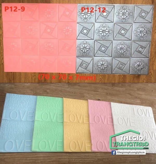 Tấm xốp ốp tường 3d giá rẻ chất lượng tại kho cung cấp, không qua trung gian