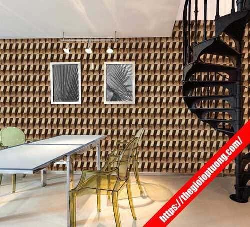 Tạo không gian độc đáo với giấy dán tường 3D