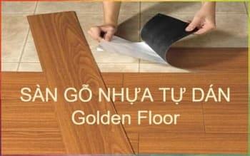 sàn nhựa gỗ tự dán, sàn gỗ nhựa giá rẻ tphcm