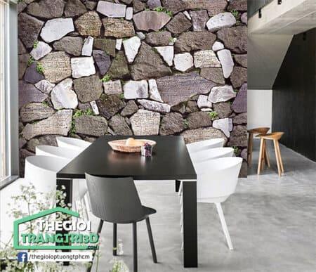 Mua giấy dán tường giả gạch giả đá giá rẻ ở đâu?