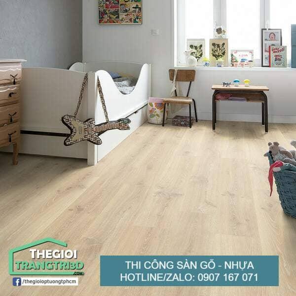 Có nên lát sàn nhựa giả gỗ, đơn vị thi công sàn gỗ nhựa tphcm