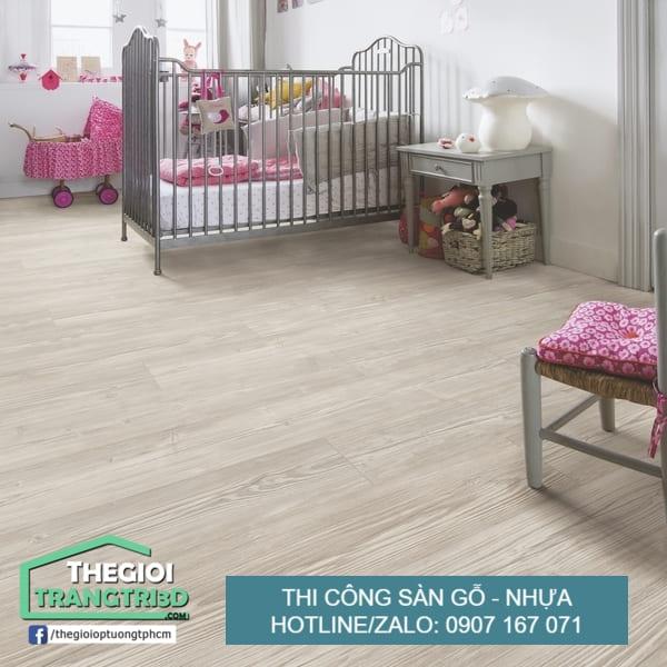 Sàn nhựa giả gỗ giá rẻ , thi công sàn gỗ nhựa Nhà Bè