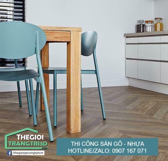 Địa chỉ cung cấp sàn nhựa giả gỗ hồ chí minh giá tốt tại kho