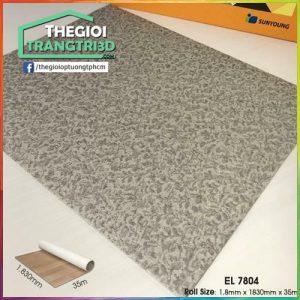 Sàn nhựa vinyl cuộn vân đá Sunyoung 1.8mm - EL7804