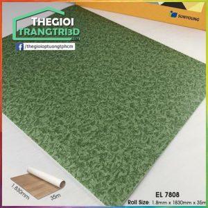 Sàn nhựa vinyl cuộn vân đá Sunyoung 1.8mm - EL7808