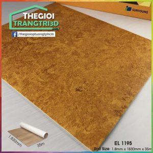 Sàn nhựa vinyl cuộn vân đá Sunyoung 1.8mm - EL1195