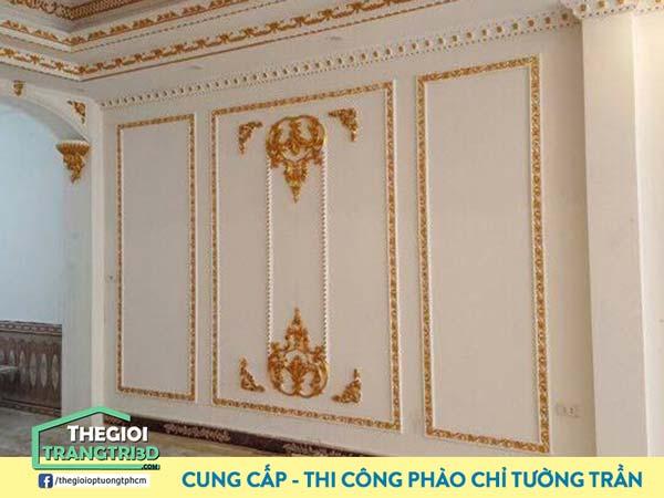 Phào chỉ nhựa PVC được ưa chuộng sử dụng trong nhiều công trình