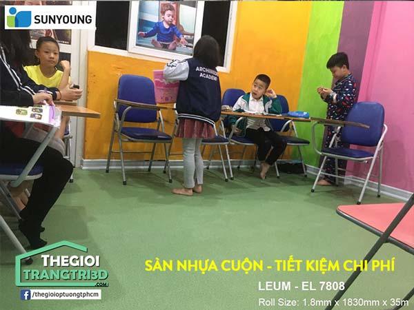 Mua sàn nhựa Vinyl cuộn Sunyoung ở đâu uy tín, giá tốt?
