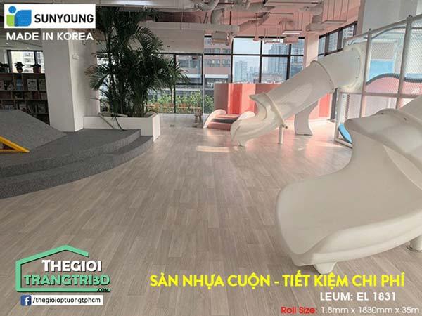Sàn nhựa Vinyl cuộn Sunyoung