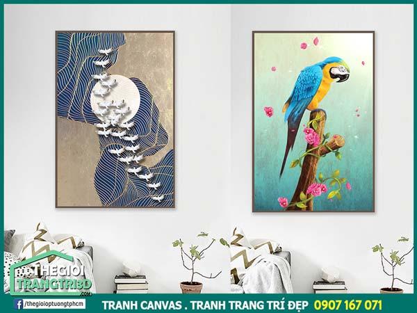 Hướng dẫn chọn mua tranh canvas đẹp TPHCM