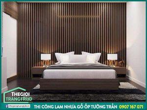Thi công tấm ốp tường giả gỗ giá bao nhiêu tại kho vật liệu nội thất