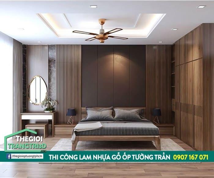 ốp tường composite vân gỗ cao cấp tphcm