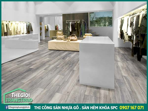 sàn nhựa gỗ SPC Rosa từ hàn quốc