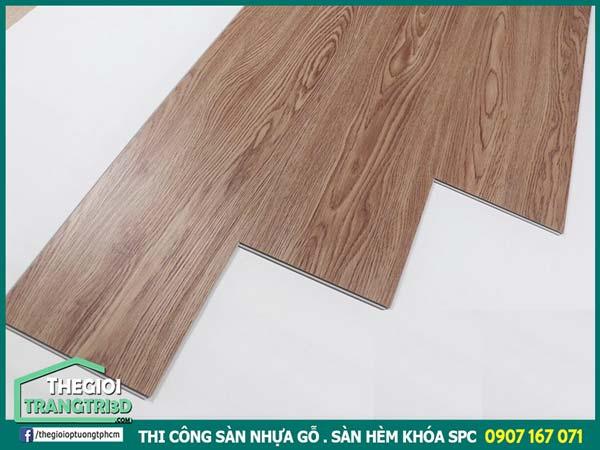 Địa chỉ thi công sàn nhựa giả gỗ giá rẻ, sàn vinyl cuộn Hàn Quốc