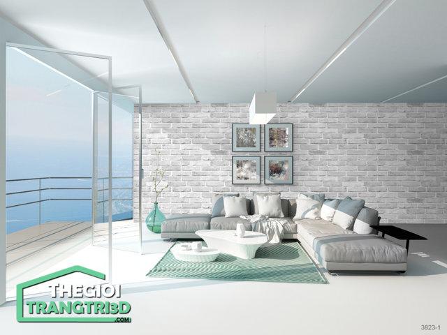Giấy dán tường đẹp BASE - 3823-1, Giấy dán tường BASE - Thi công nội thất chuyên nghiệp giá ưu đãi
