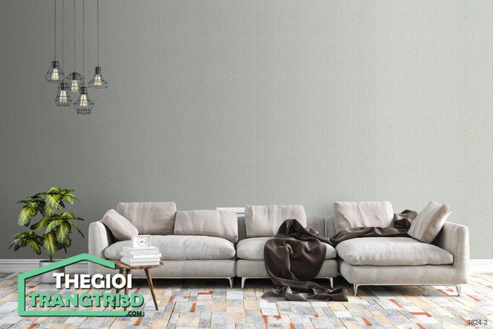 Giấy dán tường đẹp BASE - 3824-2. giấy dán tường màu trơn