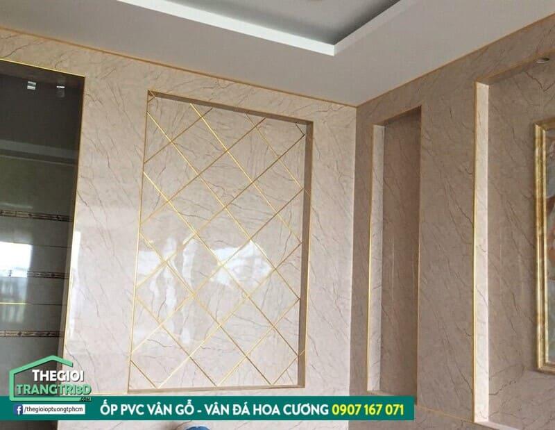 Tại sao nên sử dụng ốp tường vân đá trang trí nội thất