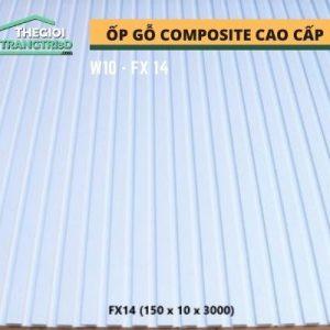 Ốp tường gỗ composite cao cấp - lamri nhựa gỗ GPWood W10 FX14