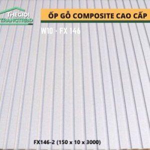 Ốp tường gỗ composite cao cấp - lamri nhựa gỗ GPWood W10 FX146