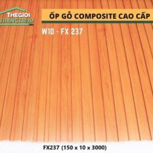 Ốp tường gỗ composite cao cấp - lamri nhựa gỗ GPWood W10 FX237