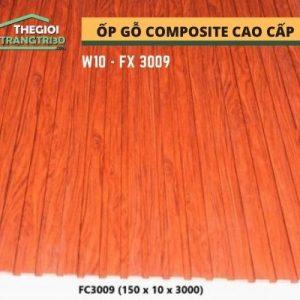 Ốp tường gỗ composite cao cấp - lamri nhựa gỗ GPWood W10 FC3009