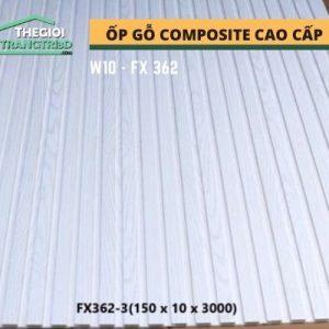 Ốp tường gỗ composite cao cấp - lamri nhựa gỗ GPWood W10 FX362