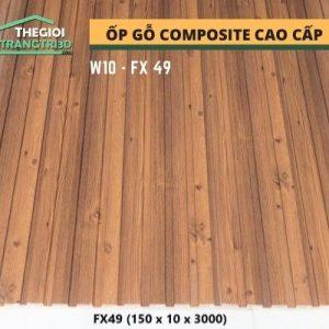 Ốp tường gỗ composite cao cấp