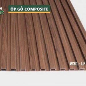 Tấm ốp gỗ nhựa composite - lamri vân gỗ GPWood W30 LFQ 008