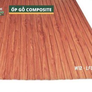Tấm ốp gỗ nhựa composite - lamri vân gỗ GPWood W12 LFQ 001