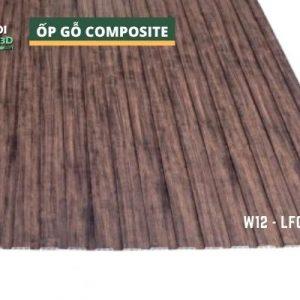 Tấm ốp gỗ nhựa composite - lamri vân gỗ GPWood W12 LFQ 006