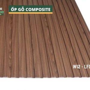 Tấm ốp gỗ nhựa composite - lamri vân gỗ GPWood W12 LFQ 008