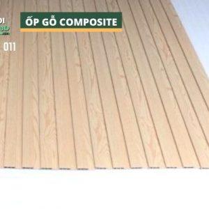 Tấm ốp gỗ nhựa composite - lamri vân gỗ GPWood W12 LFQ 011