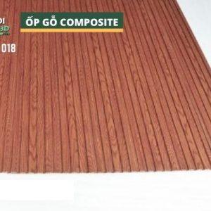 Tấm ốp gỗ nhựa composite - lamri vân gỗ GPWood W12 LFQ 018