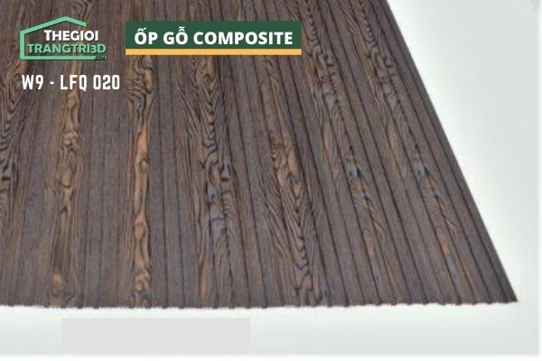 Tấm ốp gỗ nhựa composite - lamri vân gỗ GPWood W9 LFQ 020