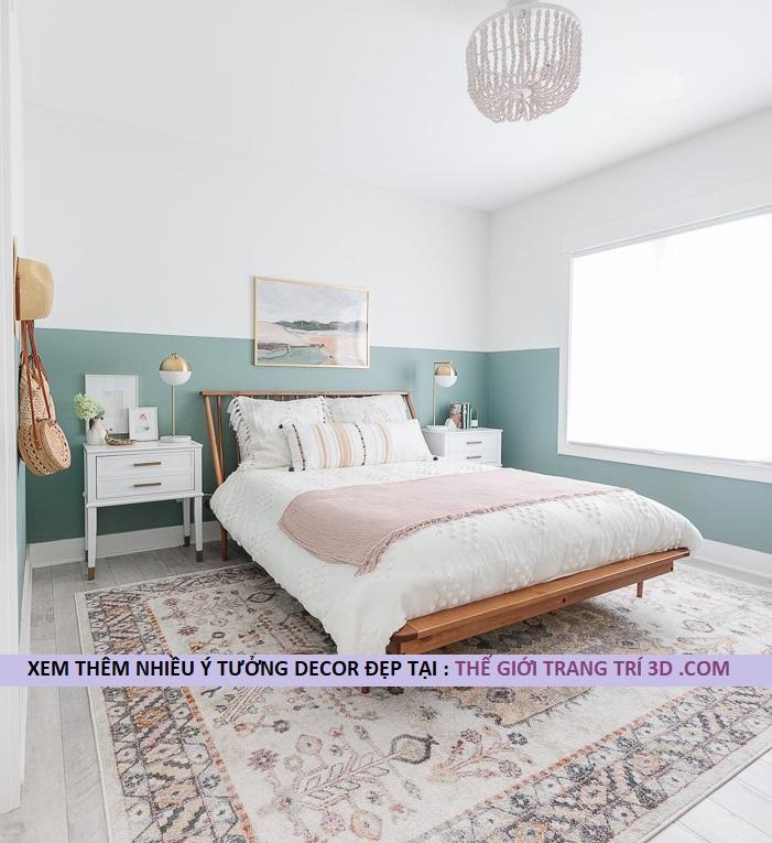 Cách trang trí phòng ngủ nhỏ đơn giản mà đẹp với 5 vật liệu trang trí giá rẻ
